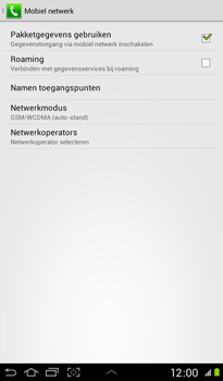 Samsung P3100 Galaxy Tab 2 7-0 - Internet - handmatig instellen - Stap 7