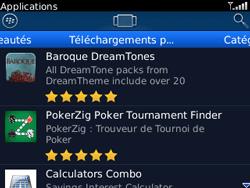 BlackBerry curve 3G - Applications - Télécharger une application - Étape 12