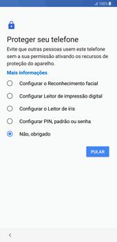 Samsung Galaxy Note 8 - Primeiros passos - Como ligar o telemóvel pela primeira vez -  13