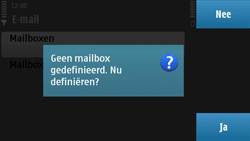 Nokia N97 - E-mail - e-mail instellen: POP3 - Stap 7