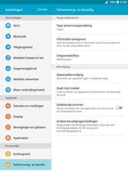 Samsung Galaxy Tab A 9.7 (SM-T555) - Beveiliging en ouderlijk toezicht - Hoe wijzig ik mijn SIM PIN-code - Stap 5