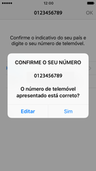Apple iPhone SE iOS 10 - Aplicações - Como configurar o WhatsApp -  10