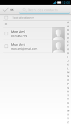 Bouygues Telecom Ultym 4 - Contact, Appels, SMS/MMS - Envoyer un SMS - Étape 6