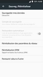 Alcatel Shine Lite - Device maintenance - Back up - Étape 7
