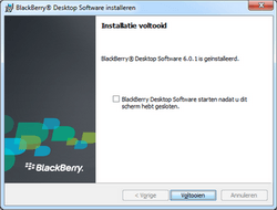 BlackBerry 9780 Bold - Software - Synchroniseer met PC - Stap 11