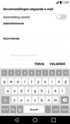 LG LG G5 - E-mail - Handmatig instellen - Stap 16
