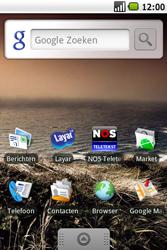 Samsung I7500 Galaxy - Voicemail - handmatig instellen - Stap 1