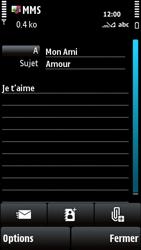 Nokia X6-00 - MMS - envoi d'images - Étape 10