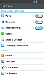 LG D505 Optimus F6 - Buitenland - Bellen, sms en internet - Stap 4