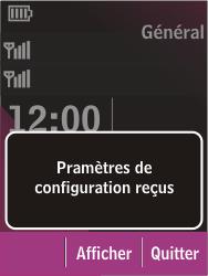 Nokia C2-03 - MMS - Configuration automatique - Étape 3