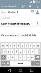 LG H320 Leon - E-mail - hoe te versturen - Stap 9