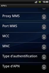 Sony Ericsson Xperia Mini Pro - MMS - configuration manuelle - Étape 11