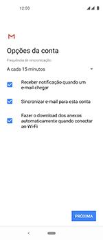 Motorola One Vision - Email - Como configurar seu celular para receber e enviar e-mails - Etapa 10