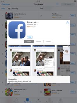 Apple iPad mini iOS 7 - Applications - Downloading applications - Step 5