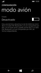 Microsoft Lumia 535 - Funciones básicas - Activar o desactivar el modo avión - Paso 5