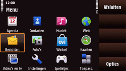 Nokia N97 Mini - MMS - probleem met ontvangen - Stap 3