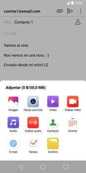 LG G6 - E-mail - Escribir y enviar un correo electrónico - Paso 12