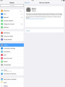 Apple iPad Pro 12.9 (1st gen) - iOS 9 - Réseau - Installation de mises à jour - Étape 5