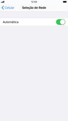 Apple iPhone 7 - iOS 13 - Rede móvel - Como selecionar o tipo de rede adequada - Etapa 5