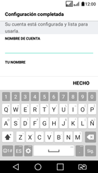LG K4 (2017) - E-mail - Configurar correo electrónico - Paso 20