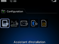 BlackBerry 8520 Curve - E-mail - Configuration manuelle - Étape 4