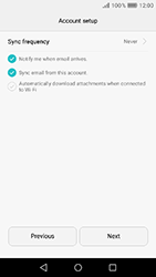 Huawei Y6 (2017) - E-mail - Manual configuration (yahoo) - Step 9