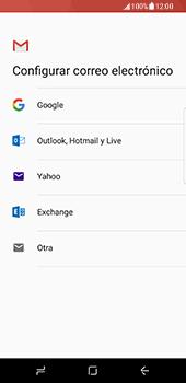 Samsung Galaxy S8 - E-mail - Configurar Gmail - Paso 8