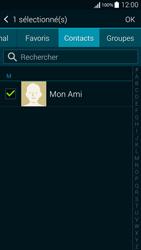 Samsung Galaxy Alpha - Contact, Appels, SMS/MMS - Envoyer un SMS - Étape 8