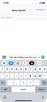 Apple iPhone XS - MMS - hoe te versturen - Stap 7