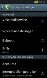 Samsung I8260 Galaxy Core - Voicemail - Handmatig instellen - Stap 6