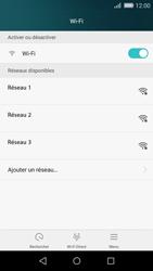 Huawei P8 Lite - Wi-Fi - Accéder au réseau Wi-Fi - Étape 5