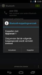 Acer Liquid Jade S - Bluetooth - Koppelen met ander apparaat - Stap 7