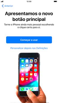 Apple iPhone 7 Plus - iOS 12 - Primeiros passos - Como ligar o telemóvel pela primeira vez -  28