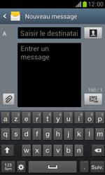 Samsung Galaxy Trend - Contact, Appels, SMS/MMS - Envoyer un MMS - Étape 5