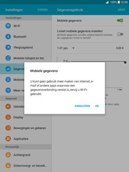 Samsung Galaxy Tab A 9.7 (SM-T555) - Internet - Uitzetten - Stap 6