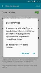 Samsung Galaxy J5 - Internet - Activar o desactivar la conexión de datos - Paso 6