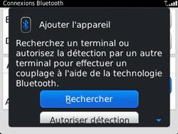 BlackBerry 9320 Curve - Bluetooth - Jumeler avec un appareil - Étape 8