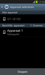 Samsung I8190 Galaxy S III Mini - Contacten en data - Contacten overzetten via Bluetooth - Stap 8