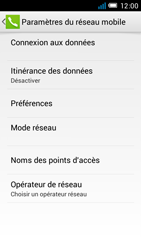 Alcatel OT-6012X Idol Mini - Réseau - Utilisation à l