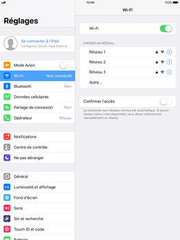Apple iPad Pro 9.7 - iOS 11 - Wifi - configuration manuelle - Étape 4