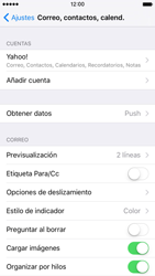 Apple iPhone 6s iOS 9 - E-mail - Configurar Yahoo! - Paso 9