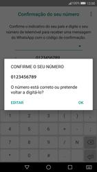 Huawei P10 - Aplicações - Como configurar o WhatsApp -  10