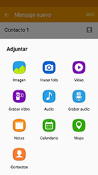 Samsung Galaxy J3 (2016) DualSim (J320) - Mensajería - Escribir y enviar un mensaje multimedia - Paso 17