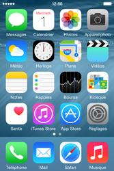 Apple iPhone 4S (iOS 8) - Photos, vidéos, musique - Prendre une photo - Étape 2