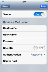 Apple iPhone 4 S - Email - Manual configuration - Step 13