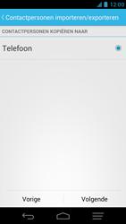 KPN Smart 300 - Contacten en data - Contacten kopiëren van SIM naar toestel - Stap 7