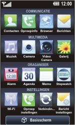 LG GC900 Viewty Smart - Voicemail - Handmatig instellen - Stap 3