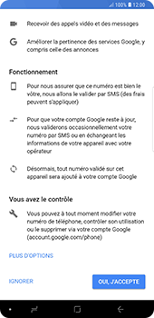 Samsung Galaxy Note 9 - Applications - Créer un compte - Étape 13