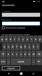 Microsoft Lumia 640 - E-mail - Account instellen (IMAP met SMTP-verificatie) - Stap 9