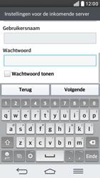 LG D620 G2 mini - E-mail - Account instellen (POP3 met SMTP-verificatie) - Stap 12